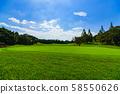 골프 코스 페어웨이 라운드 푸른 하늘 전략 비즈니스 매너 관리 루트 58550626