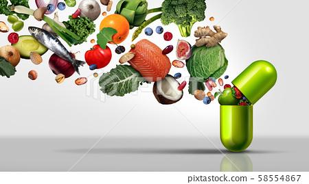 Nutritional Supplement 58554867