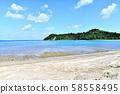 Looking towards Miyagi Island from the tsunami coast (Ogimi Village, Okinawa Prefecture) [2019.10] 58558495