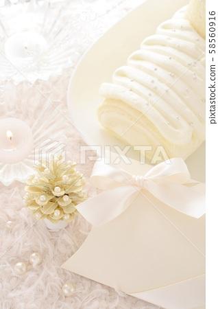 白色白色聖誕節 58560916