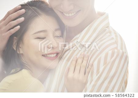 浪漫情侶軟焦點 58564322