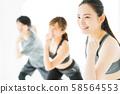 有氧運動健身健美操運動健身房舞蹈女運動 58564553