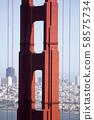 San Francisco Golden Gate Bridge 58575734