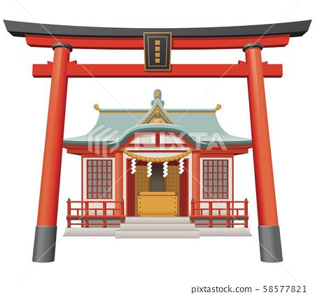 图库插图:神殿插图神殿 58577821