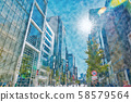 [Tokyo] City landscape 58579564
