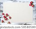 Rose buds, dried flowers, rose bud 58580580