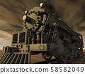 Steam locomotive 58582049