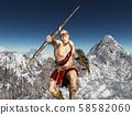 Greek god Zeus, king of the gods 58582060