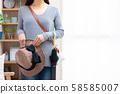 女人出去逛街購物 58585007