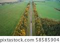 Train moving in railway 58585904