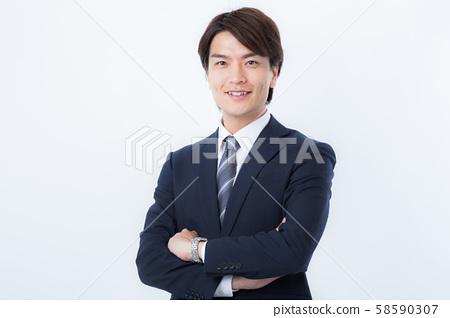 一個年輕的商人 58590307
