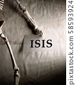ISIS Tag with skeleton 58593924