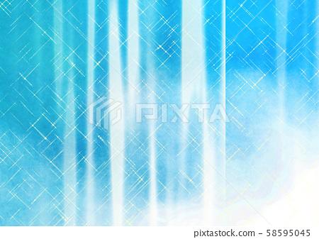 藍色幾何抽象背景 58595045