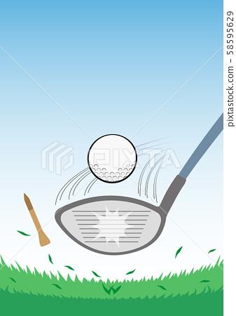 골프 드라이버 샷 58595629
