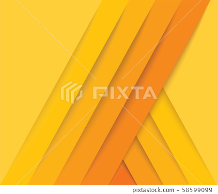 abstract modern yellow lines background vector illustration EPS10 58599099