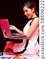여성 비즈니스 58606222
