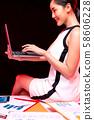 여성 비즈니스 58606228