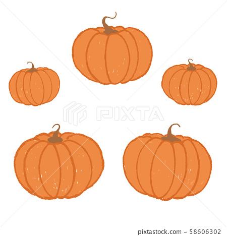 vector art illustration of autumn halloween 58606302