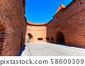 Warsaw, Poland Barbican or Barbakan 58609309