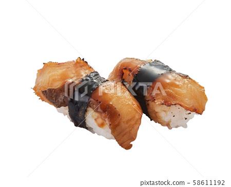 oji絲,熟食,日本料理,日本料理,生魚片 58611192