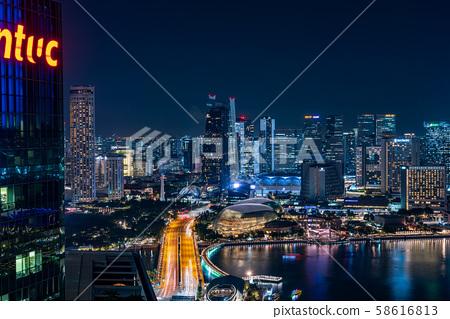 新加坡摩天大楼 58616813