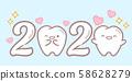 cartoon tooth hold 2020 58628279