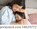 父母和孩子的生活方式睡眠 58629772