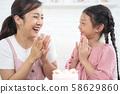 父母和孩子的生活方式生日 58629860