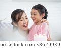 父母和孩子的生活方式生日 58629939