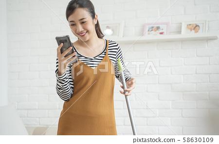 女人的生活方式家務 58630109