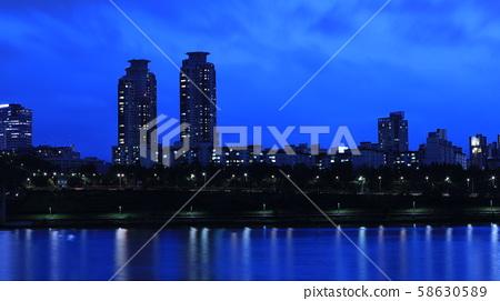 한강 풍경 58630589