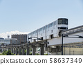 [立木站附近的多摩單軌鐵路] 58637349