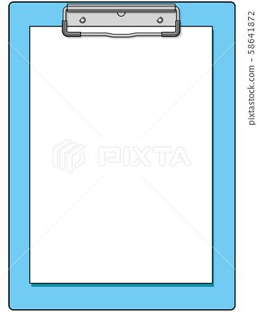 图库插图:剪贴板黏合剂矢量eps营业所文具办公用品 58641872
