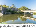 大阪城堡寺和城堡塔 58644721