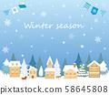 冬季背景1 58645808