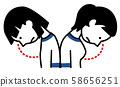 關心胸圍的女孩 58656251