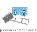 冬季相機和照片1 58656418
