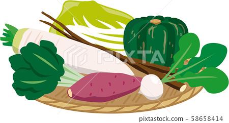 什錦蔬菜漏勺 58658414
