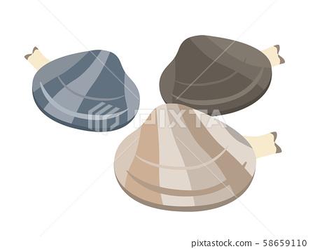 Illustration of clams 58659110