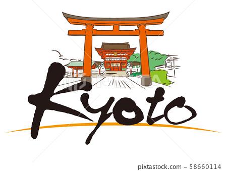 Kyoto Kyoto Fushimi Inari Shrine 58660114