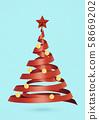 크리스마스 트리 Xmas 58669202