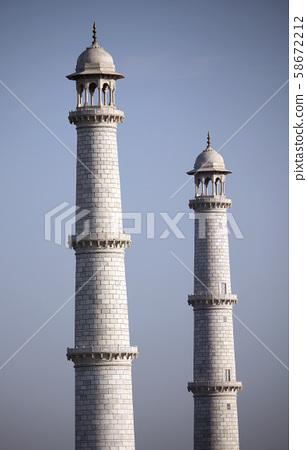 Minarets of the Taj 58672212