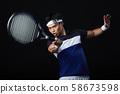 网球网球运动员男 58673598