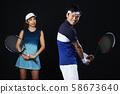 테니스 테니스 학교 남녀 58673640