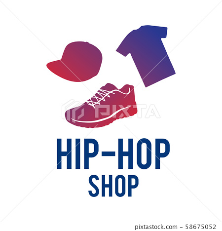 Vector logo for hip hop clothing store, things 58675052