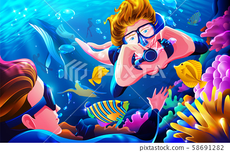 Leave the stress, and get diving 58691282