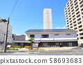 Hiratsuka townscape 58693683