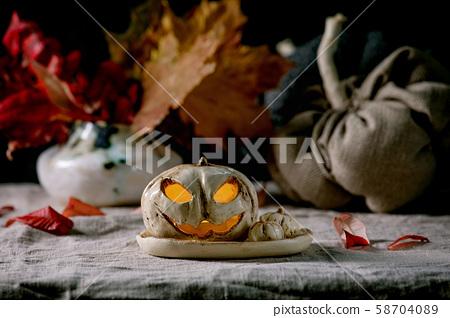 Halloween Jack o lantern 58704089