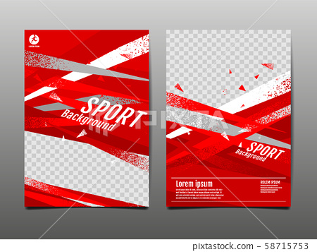sport Layout , template Design, Abstract 58715753