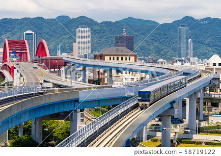 Bridge to Kobe Kansai Japan 58719122